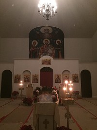 Inside Nativity Night